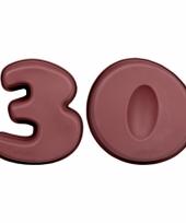 Siliconen bakvormen cijfer 30 trend