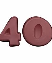 Siliconen bakvormen cijfer 40 trend