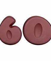 Siliconen bakvormen cijfer 60 trend