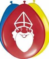 Sinterklaas ballonnen 8 stuks trend