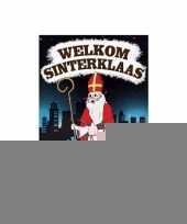Sinterklaas deurposter met 75 onderzetters sinterklaas trend
