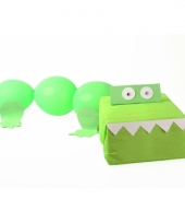 Sinterklaas krokodil suprise bouwpakket trend