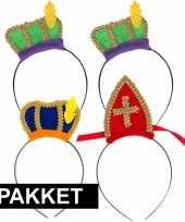 Sinterklaas sinterklaas intocht pakket voor 4 personen trend