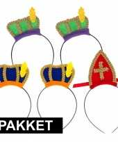 Sinterklaas sinterklaas intocht pakket voor 5 personen trend
