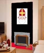 Sinterklaas sinterklaas wanddecoratie 42 cm trend