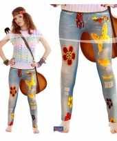 Sixties legging jeanslook trend