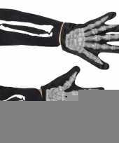 Skelet accessoire handschoenen kids trend
