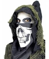 Skelet bandana masker trend