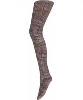 Slangenprint dames panty trend