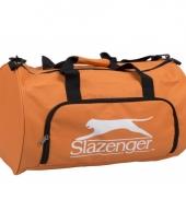 Slazenger weekendtas oranje 50 cm trend