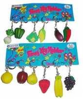 Sleutelhanger groente fruit trend
