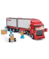 Sluban containter truck bouwblokjes trend