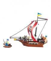 Sluban piratenschip groot bouw speelset trend 10076857