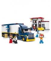 Sluban vrachtwagen met poppetje trend
