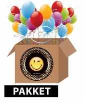Smiley feest pakket trend