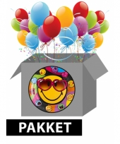 Smiley feestpakket trend