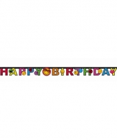 Smiley letterslinger happy birthday trend