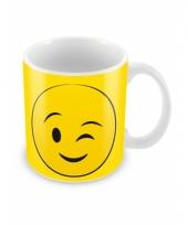 Smiley mok knipoog trend