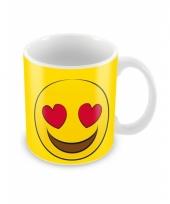 Smiley mok verliefd trend