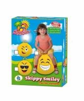 Smiley skippybal knipoog trend