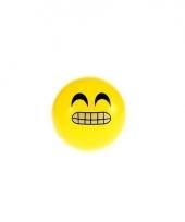 Smiley stuiterbal 8 cm trend