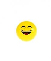 Smiley stuiterbal lachend 8 cm trend