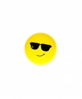 Smiley stuiterbal zonnebril 8 cm trend