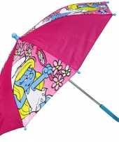 Smurfin paraplu meisjes 65 cm trend