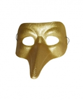 Snavel masker goud trend