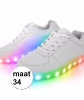Sneakers met lichtgevende zool maat 34 trend