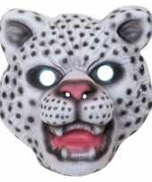 Sneeuwluipaard sneeuwpanter verkleed dierenmasker voor kinderen trend