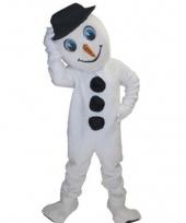 Sneeuwpop kostuum mascotte trend