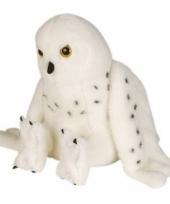 Sneeuwuil knuffeltje 30 cm trend