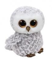 Sneeuwuil ty beanie knuffel owlette 24 cm trend