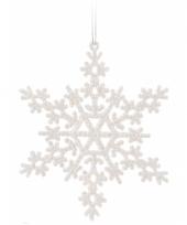 Sneeuwvlok decoratie wit 14 5 cm type 2 trend