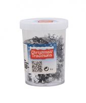 Sneeuwvlokken confetti zilver trend