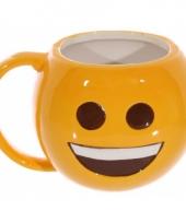 Soepkom lachende emoji 500 ml trend