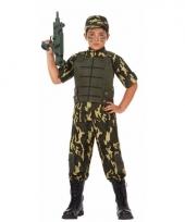 Soldaat leger kostuum voor jongens trend