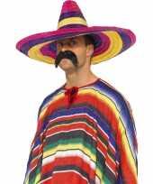 Sombrero hoeden gekleurd trend