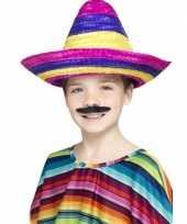Sombrero hoeden gekleurd voor kinderen trend