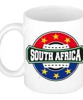 South africa zuid afrika embleem mok beker 300 ml trend