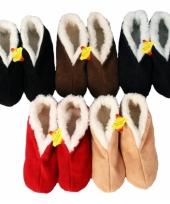 Spaanse pantoffels gevoerd trend
