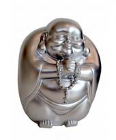 Spaarpot boeddha zilver trend
