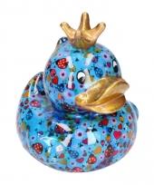 Spaarpot eend met kroontje type 11 16 cm trend