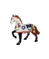 Spaarpot paard wit bruin trend