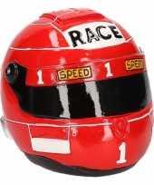 Spaarpot rode race helm trend