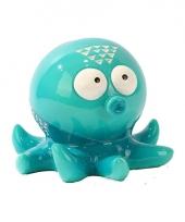 Spaarpot turquoise octopus trend