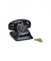 Spaarpot zwarte telefoon trend