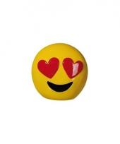 Spaarpotten emoticons hartjes ogen 13 cm trend