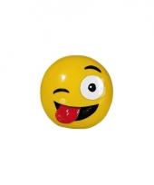 Spaarpotten emoticons tong 13 cm trend 10079880